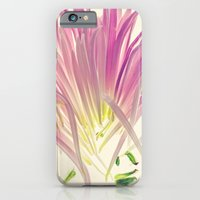 Love me, Dhalia - Botanical Print iPhone 6 Slim Case