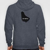 I'm Here Barbados Hoody