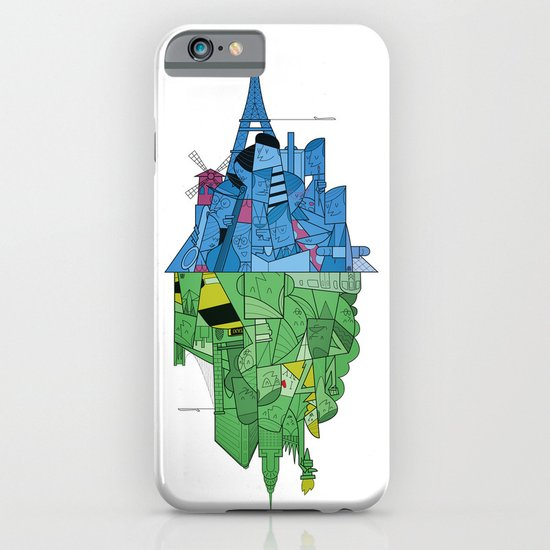 From Paris to New York and back iPhone & iPod Case