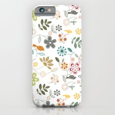 birds n flowers V1 Slim Case iPhone 6s
