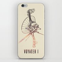 VOYAGER ONE - Space | Ti… iPhone & iPod Skin