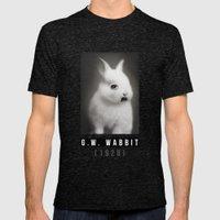 G.W Rabbit Mens Fitted Tee Tri-Black SMALL