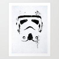 Trooper Art Print