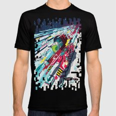 Faster than GAME OVER v2.0 +T-SHIRT DESIGN+ SMALL Black Mens Fitted Tee
