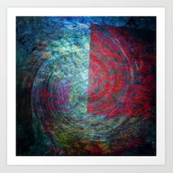 Art Print featuring Abstract 67676 by Lo Coco Agostino