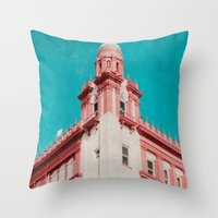 Throw Pillow featuring Building by Sweet Moments Captured