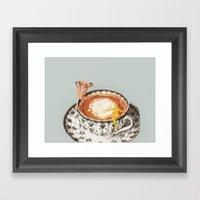 Food As Recreation Framed Art Print