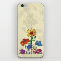 Flower Tales 5 iPhone & iPod Skin