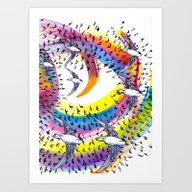Spin And Spin Art Print