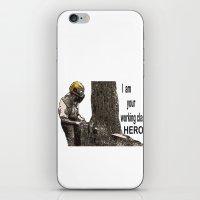 Working class Hero 2 iPhone & iPod Skin