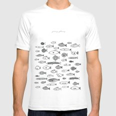 Going Places Mens Fitted Tee White SMALL