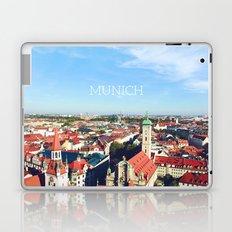 Munich skyline Laptop & iPad Skin
