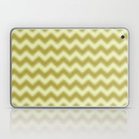Chevron Gold Berry Laptop & iPad Skin