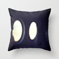 Jet Plane Throw Pillow