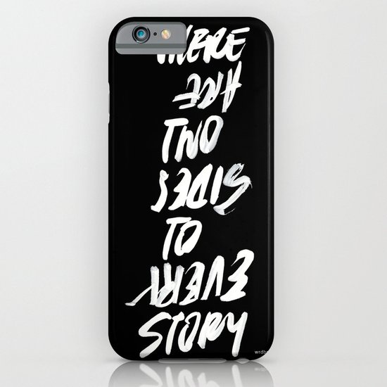 TWO SIDES iPhone & iPod Case