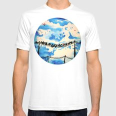 belonging Mens Fitted Tee White SMALL