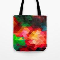 Color Contrast Tote Bag