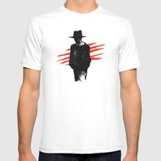 The Man of Your Dreams White SMALL Mens Fitted Tee
