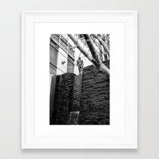 monument Framed Art Print