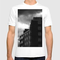 Tottenham Flats Mens Fitted Tee White SMALL