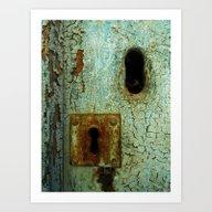 Keyhole 2  Art Print