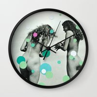 Chasing Bubbles Wall Clock