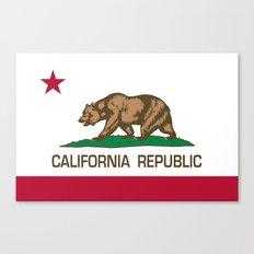 California Republic Stat… Canvas Print