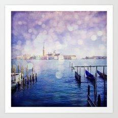 Venetian Fog Venice Italy Travel Photography Art Print