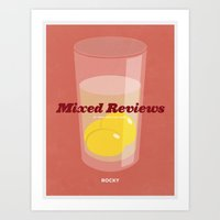 Mixed Reviews - Rocky Art Print