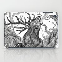 Low roar iPad Case