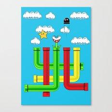 Pipe Dreams Canvas Print