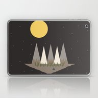Camping On The Edge Of T… Laptop & iPad Skin