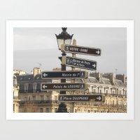 Paris Adventure  Art Print