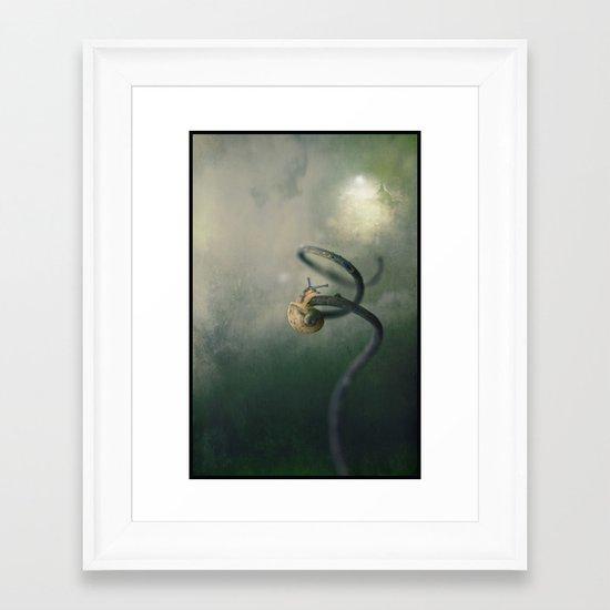 Panto season - The Lure of the Magic Bean... Framed Art Print