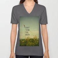 Travel Like A Bird Without a Care Unisex V-Neck