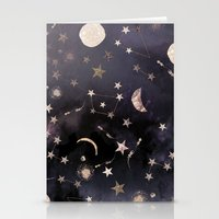 photography Stationery Cards featuring Constellations  by Nikkistrange