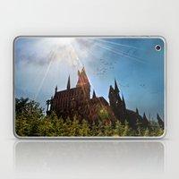 Flare Over Hogwarts Laptop & iPad Skin