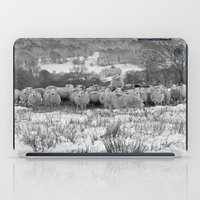Sheep on the Brecon Beacons.Wales. iPad Case