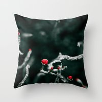 Anti-Flower Throw Pillow