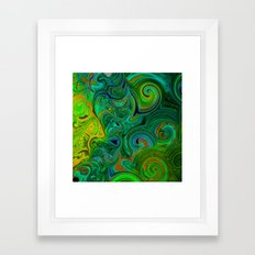 FREE ABSTRACT FACE SHILOUETTE Framed Art Print