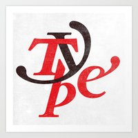Type Art Print