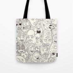 Faces of Math (no color edition)  Tote Bag