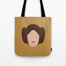 Star Wars Minimalism - Princess Leia Tote Bag