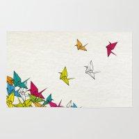 Cranes Origami Rug