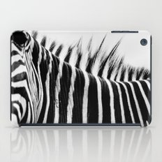 Zebra Stripes & Back iPad Case