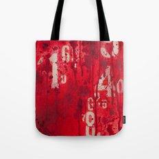 Numeric Values: Sl-a-sh … Tote Bag