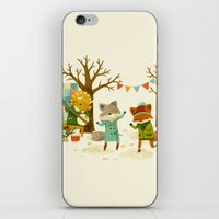 Critters: Spring Dancing iPhone & iPod Skin