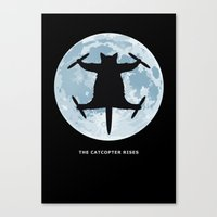 Catcopter Rises Canvas Print