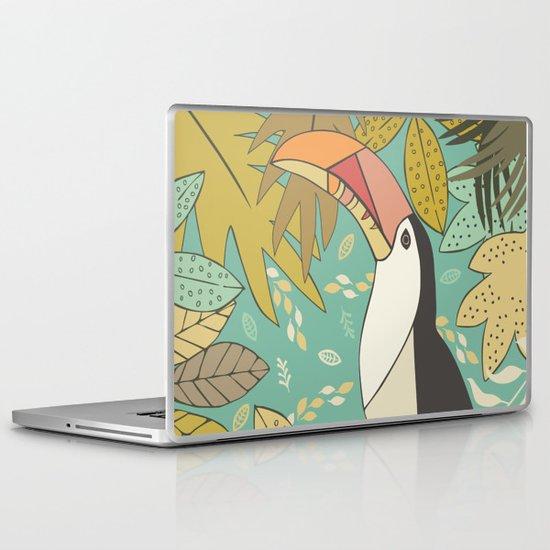 Forest Toucan  Laptop & iPad Skin