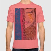 Tears of Gold Mens Fitted Tee Pomegranate SMALL